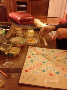New Year's Eve Scrabble